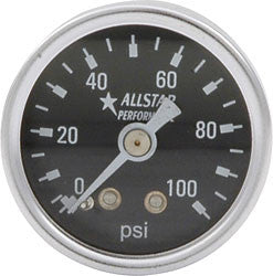 "1.5"" Gauge 0-100 PSI Dry Type"