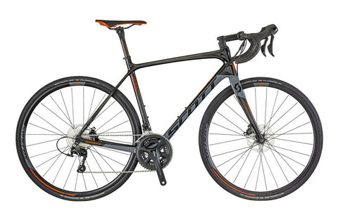 Scott Addict Disc 20 road bike black/grey