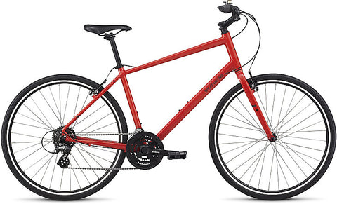 Specialized Alibi Sport adult hybrid/comfort bike nordic red