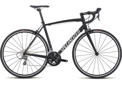 Specialized Allez E5 road bike black satin black/gloss white