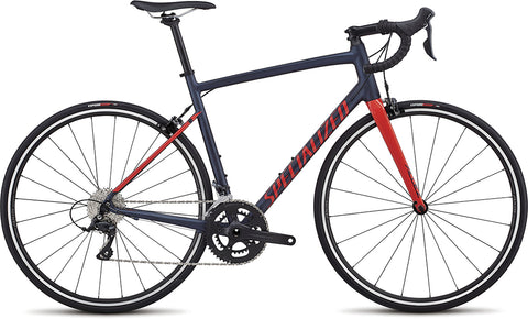Specialized Allez Sport road bike satin navy/nordic red
