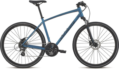 Specialized Crosstrail Hydro Disc hybrid/comfort bike teal tint/black/flake silver