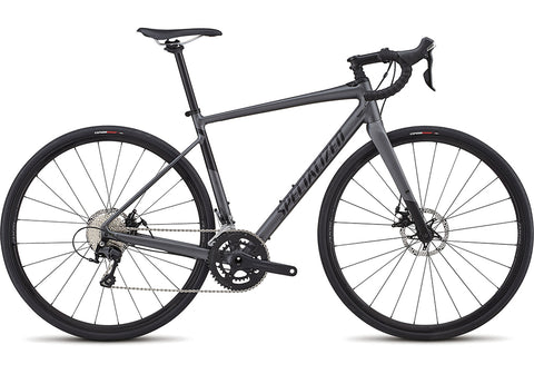 Specialized Diverge Comp E5 road bike satin graphite/black