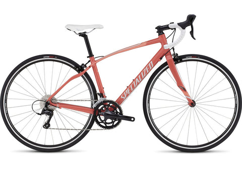Specialized Dolce Sport women's road bike satin coral pearl/silver