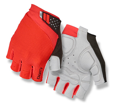 Giro Monaco II Gel mens bike gloves vermillion