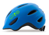 Giro Scamp MIPS kids bike helmet matte blue/lime