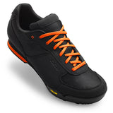 Giro Rumble VR mens mountain bike shoes black/glowing red