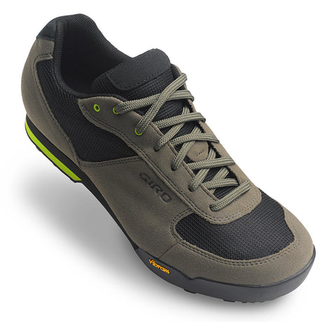 Giro Rumble VR mens mountain bike shoes mil spec olive/black