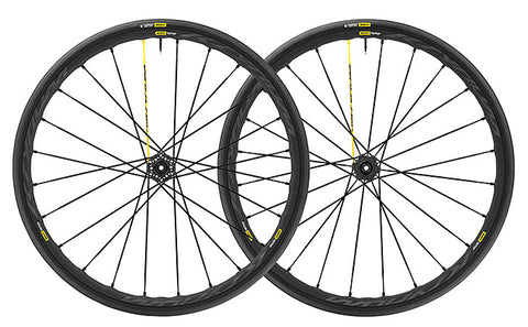 Mavic Ksyrium Pro Disc bike wheelset