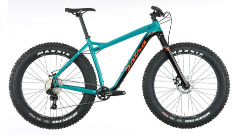 Salsa Mukluk Nx1 fat bike teal/black