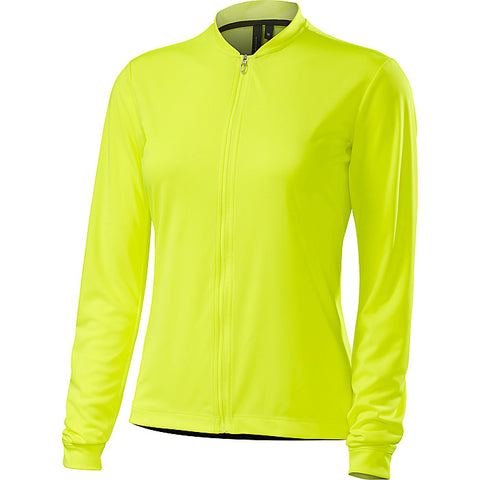 Specialized womens RBX long sleeve Sport Jersey neon yellow