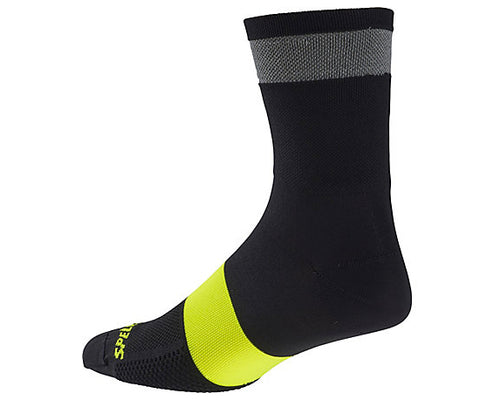 Specialized Reflect Tall Sock black