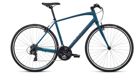 Specialized Sirrus V-Brake mens fitness/urban bike tropical teal/acid mint/cast blue reflective