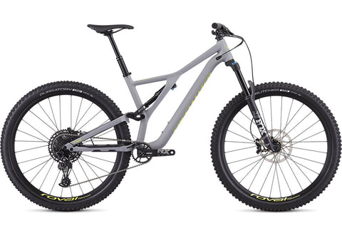 Specialized Stumpjumper FSR Alloy Comp 27.5 satin cool grey/team yellow