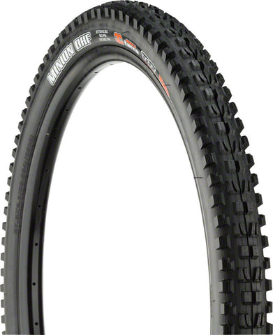 "Maxxis Minion DHF 27.5x2.30"" Tire 120tpi, 3C Maxx Terra Compound, Double Down Casing, Tubeless Ready, Black"