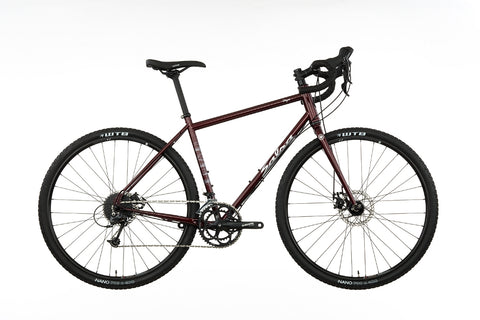 Salsa Vaya Deore road bike dark red