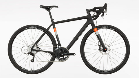 Salsa Warbird Carbon Rival road bike raw carbon