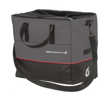 Blackburn Local Grocery Pannier gray/black