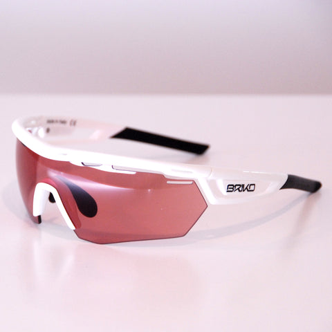 Briko Cyclope, White / Photocromic Pink