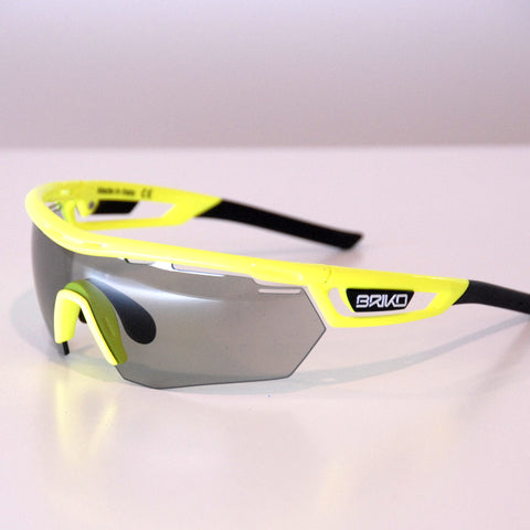 Briko Cyclope, Fluorescent Yellow / Photocromic Clear