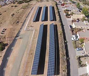 Capital High School Santa Fe Solar Project