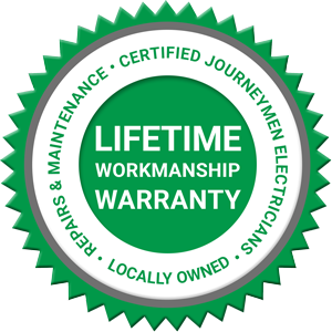 Lifetime Workmanship Warranty CST Solar Journeymen Electricians