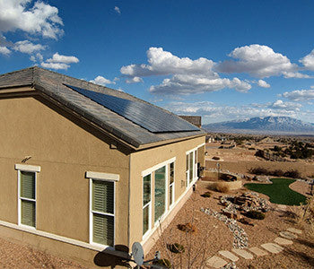 Pitched Tile Roof Solar Install