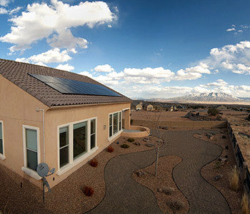 Pitched Tile Roof Solar System