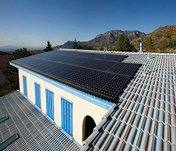Pitched Tile Roof Solar Panels