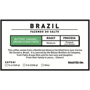BRAZIL - FAZENDO DO SALTO - MEDIUM Coffee