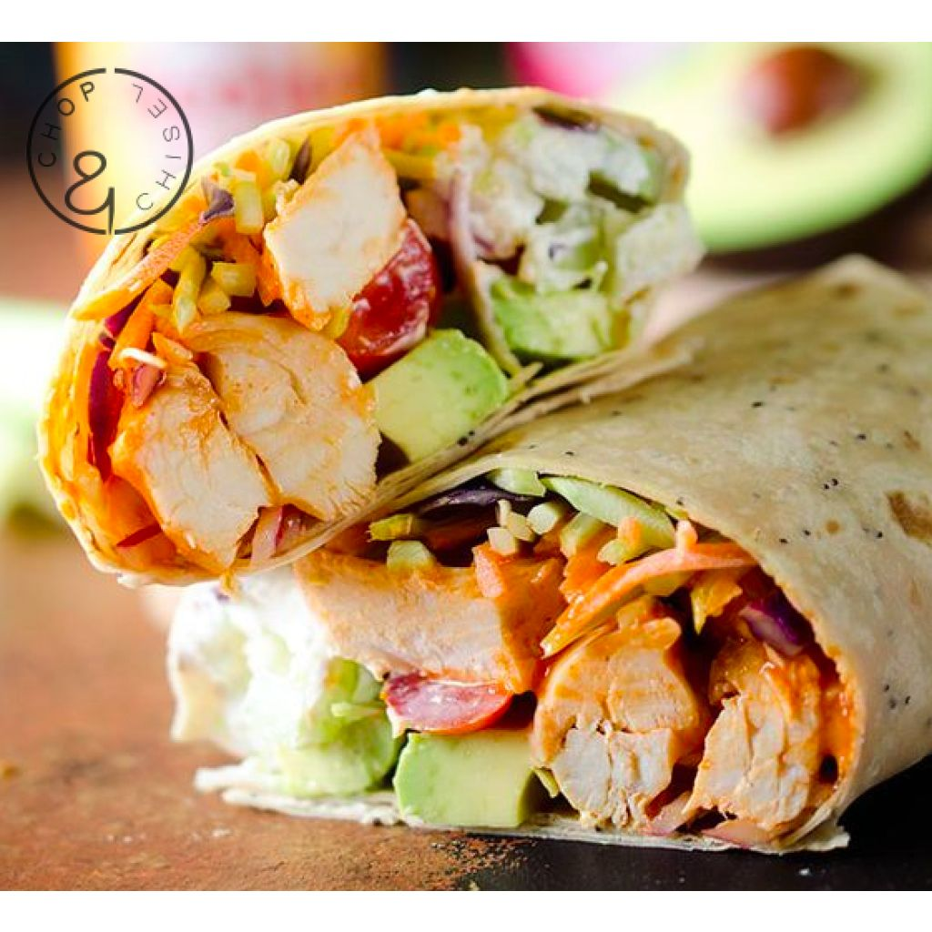 Buffalo Chicken Wrap Entree
