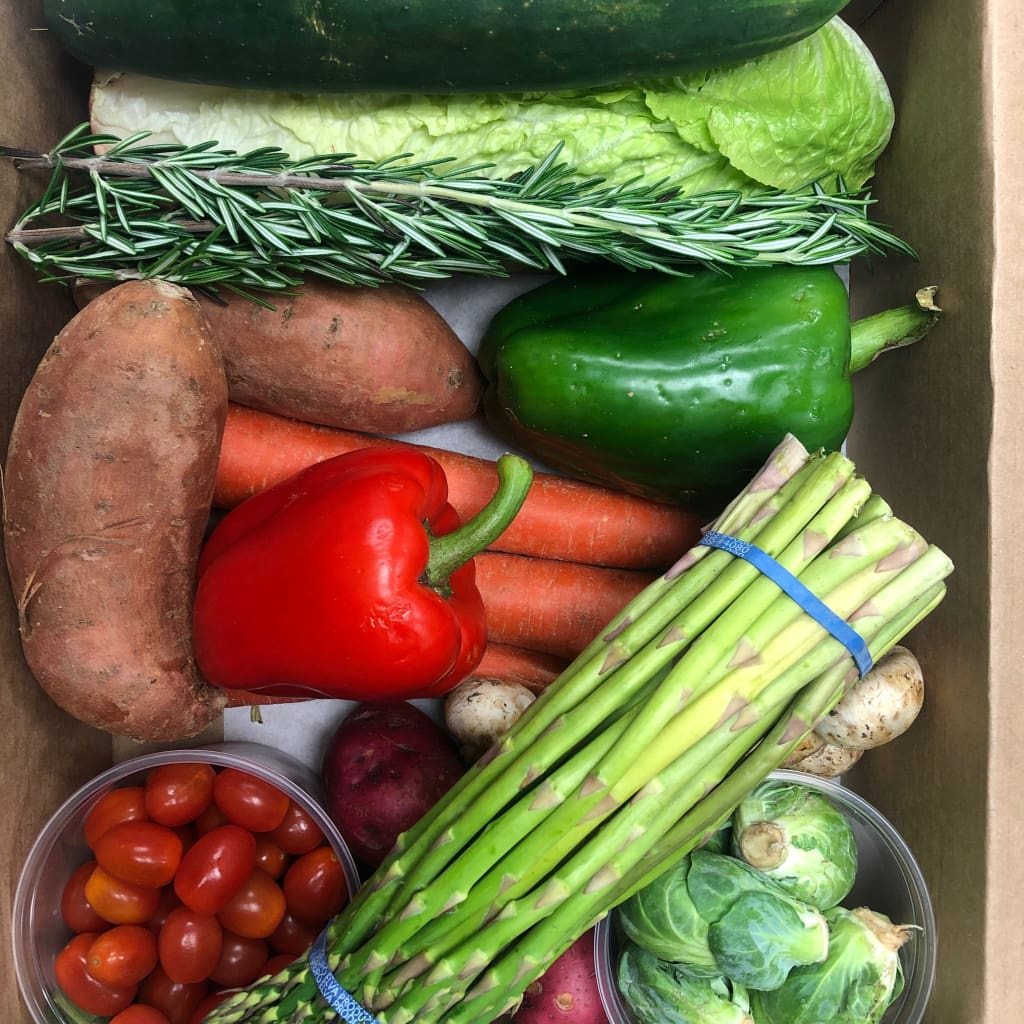 Donate a Fresh Produce Box Produce Box