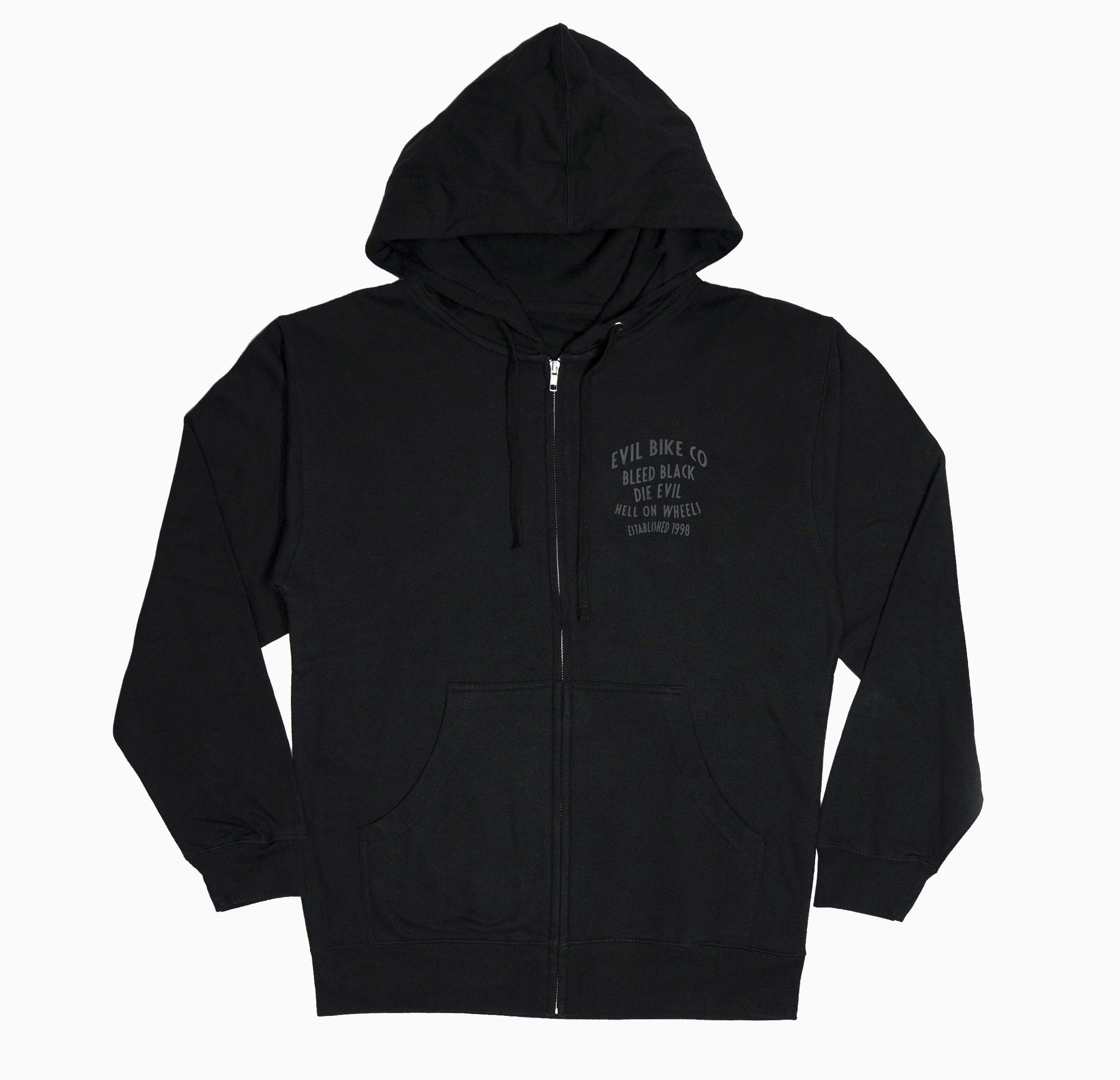 Creeper Zip-Up Hoodie