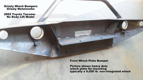 2002 Toyota tacoma Front winch bumper