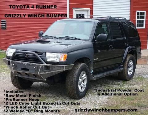 Grizzly Winch Bumpers Toyota 4 Runner