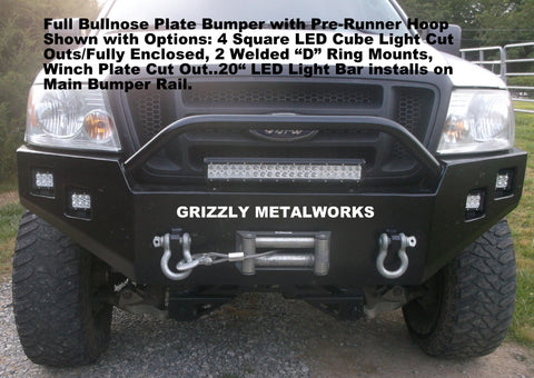 2007 F150 Front Winch Plate Bumper Grizzly Winch Bumpers