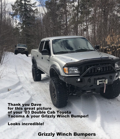 2003 toyota tacoma Grizzly Winch Bumper