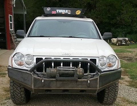 Jeep Grand Cherokee Wk Grizzly Front Winch Bumper