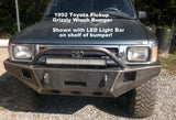 1989 - 1995 Toyota Pickup Truck Custom Front Winch Plate Bumper (Non-Winch Work Model Available)