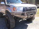 Toyota 4 Runner Front Winch Bumper   grizzlymetalworks.com