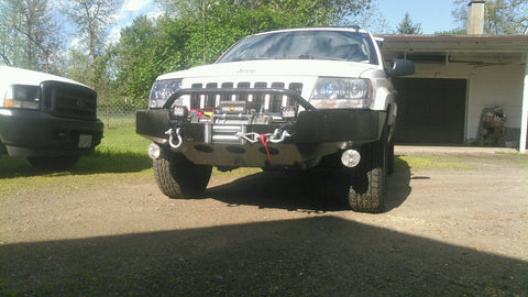 Grizzly Winch Bumpers Jeep Grand Cherokee WJ Winch Bumper  grizzlywinchbumpers.com