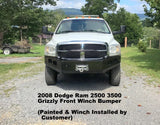 2006-2009 Dodge Ram 2500 3500 Custom Front Winch Plate Bumper (Non-Winch Work Model Available)