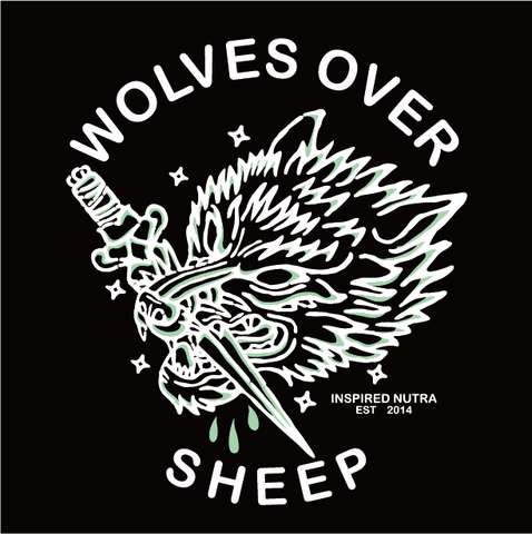 Wolves Over Sheep Zip-Up (Unisex)