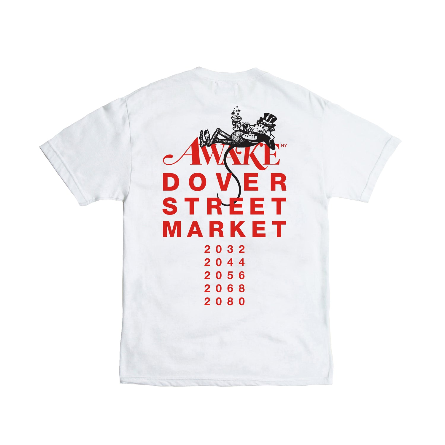 Year Of The Rat Tee Back
