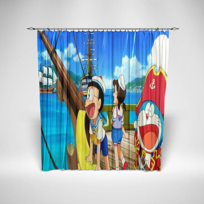 DORAEMON - KIDS SHOWER CURTAIN