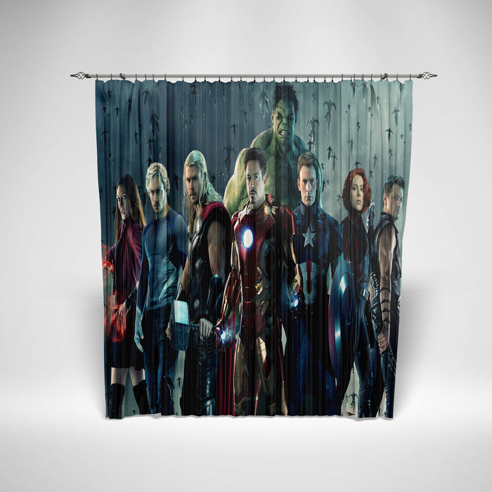AVENGER - SHOWER CURTAIN