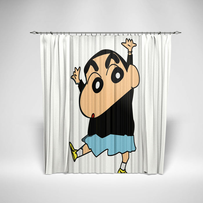 CRAYON SHIN-CHAN - KIDS SHOWER CURTAIN