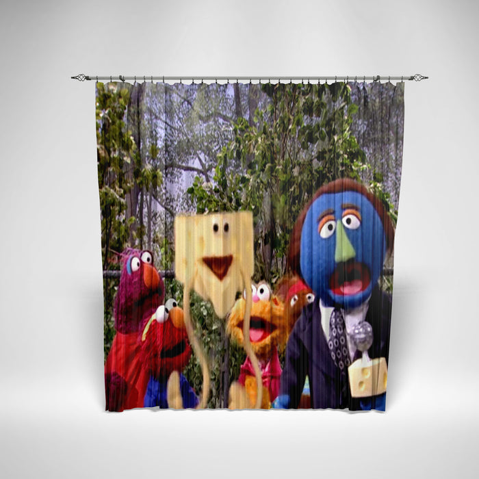 SESAME STREET - KIDS SHOWER CURTAIN