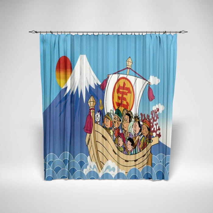 SAZAE-SAN - KIDS SHOWER CURTAIN