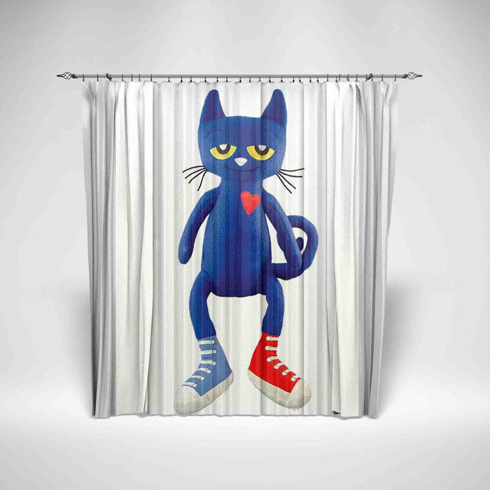PETE THE CAT - KIDS SHOWER CURTAIN